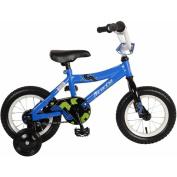 30cm Piranha Pronto Boys' Bicycle, Blue