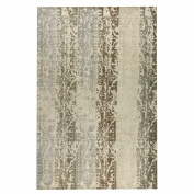 M.A. Trading Madison Hand-Woven Silver/Beige Area Rug