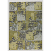 M.A. Trading Cleveland Hand-Woven Gold/Grey Area Rug