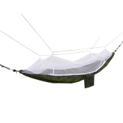 2 Person Parachute Hammock with Adjustable Mosquito Net