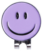 C-Pioneer Smiling Face Golf Ball Marker Hat Clip
