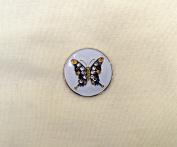 Evergolf Crystal Purple Butterfly Golf Ball Marker - 13777