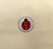 Evergolf Crystal Lady Bug Golf Ball Marker - 13774