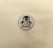 Evergolf Crystal Penguin Golf Ball Marker - 13773