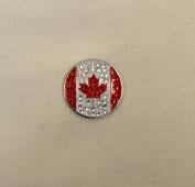 Evergolf Crystal Canada Golf Ball Marker - 13762