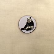 Evergolf Crystal Panda Golf Ball Marker - 13719