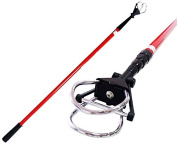 Paragon Golf Compact Ball Retriever 4.6m with D-Clip in Red