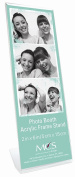 Bent Acrylic Photo Booth Frame Vertical 2x6