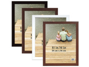 MCS 11x14 Economy Flat-Top Picture Frame - Black