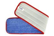 CleanAide All Purpose Twist Yarn Microfiber Mop Pad 60cm Red