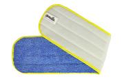 CleanAide All Purpose Twist Yarn Microfiber Mop Pad 60cm Yellow