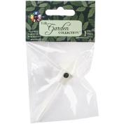 Mini Iron Garden Birdhouse 7.6cm -Cream