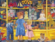 Shopping for Toys, A 300 Piece Jigsaw Puzzle by SunsOut