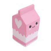 Lalang Squishies Milk Box Slow Rising Toy Stress Relief Squeeze Toy