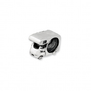 RV Camper Charm in Silver For 3mm Charm Bracelets