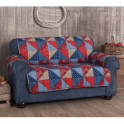 Innovative Textile Solutions Americana Loveseat Protector, Multi-Colour