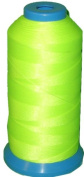 Item4ever® Reflective NEON Green Bonded Nylon Sewing Thread V-69 T70 1500 Yard for Outdoor, Leather, Upholstery