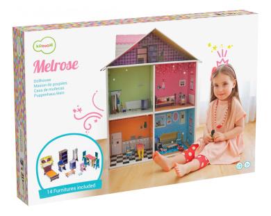 Krooom Melrose Dollhouse Playset