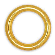 2.5cm - 1cm Metal Gold O-Ring Belt Buckle, Fashion Jewellery by 4-pcs, SP-2459