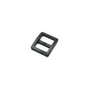 """100pcs 3/8""""(10mm) Plastic Tri-glide Adjust Buckles for Backpack Straps Black"""
