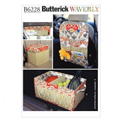 Butterick Crafts Sewing Pattern 6228 Car Organisers in 4 Styles