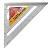 Techinal Techinal 18cm Triangle Carpenter's Square Measuring Ruler Angle Protractor Tool