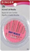 Craft Needle Compact-Assorted 25/Pkg
