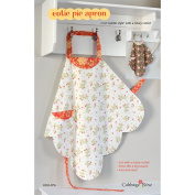 """CABBAGE ROSE """"CUTIE PIE APRON"""" Sewing Pattern"""