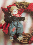 "Farmyard Creations Patches - 12"" Scarecrow Pattern"