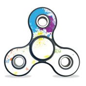 Skin Decal Wrap for Fidget Spinner Hand Tri Fydget toy sticker Splash Of Colour