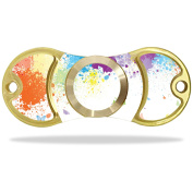 Skin Decal Wrap for EDC Fidget Spinner Hand Toy Amilife Outdoo Splash Of Colour