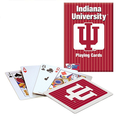 Officially Licenced NCAA Indiana Playing Cards