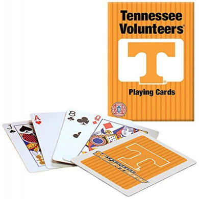 Officially Licenced NCAA Tennessee Playing Cards