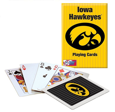 Officially Licenced NCAA Iowa Playing Cards
