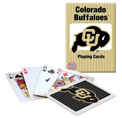 Officially Licenced NCAA Colorado Playing Cards