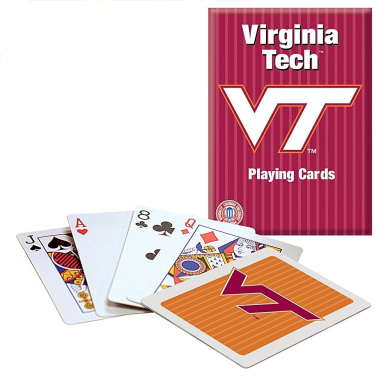 Officially Licenced NCAA Virginia Tech Playing Cards