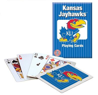 KU Kansas Jayhawks Playing Cards
