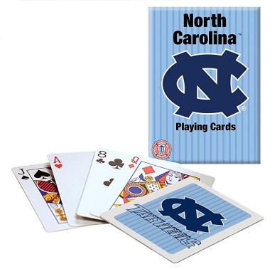 North Carolina Tar Heels Playing Cards