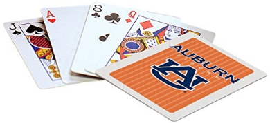 Officially Licenced NCAA Auburn Playing Cards