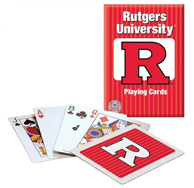 Officially Licenced NCAA Rutgers Playing Cards