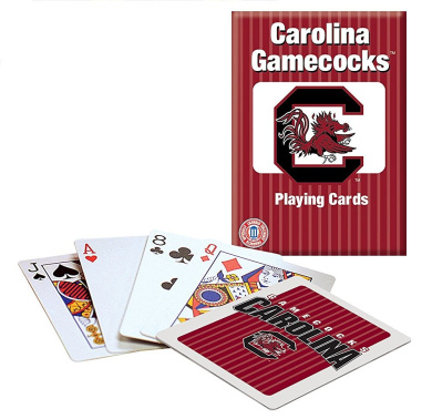 Officially Licenced NCAA South Carolina Playing Cards