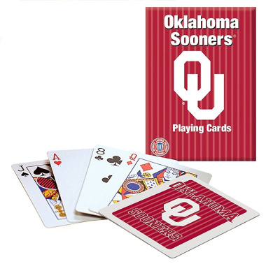 Officially Licenced NCAA Oklahoma Playing Cards