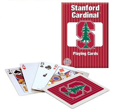 Officially Licenced NCAA Stanford Playing Cards