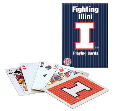 Officially Licenced NCAA Illinois Playing Cards