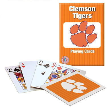 Officially Licenced NCAA Clemson Playing Cards