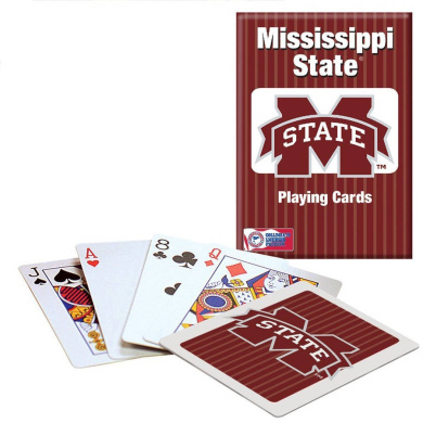 Officially Licenced NCAA Mississippi State Playing Cards