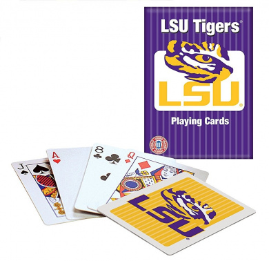 Officially Licenced NCAA LSU Playing Cards