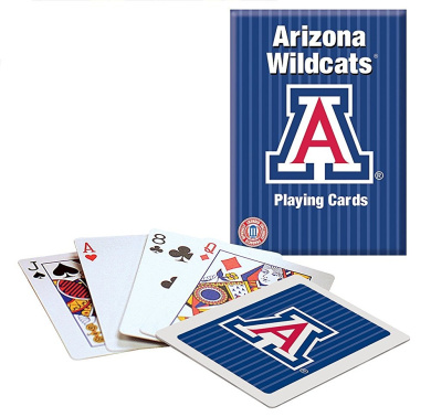 Officially Licenced NCAA Arizona Playing Cards