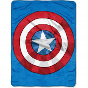 "Marvel's The Avengers ""The Shield"" 120cm x 150cm Micro Raschel Throw"