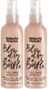 (2 PACK) Umberto Giannini Blow Dry In A Bottle A Big Shiny Blow Out x 200ml